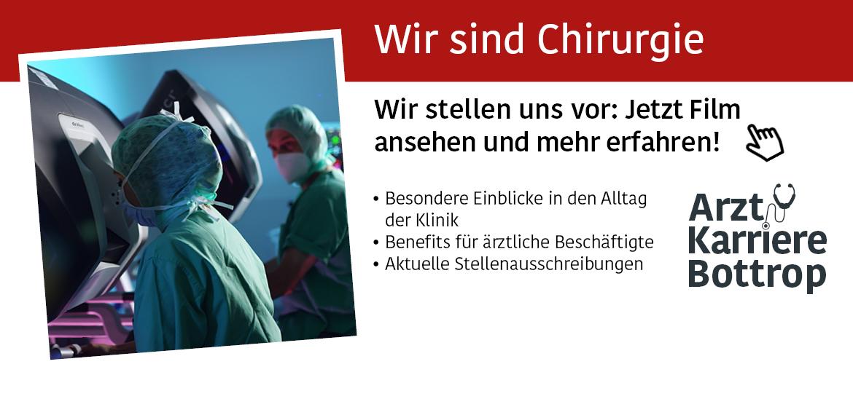 Film Klinik für Kardiologie  Knappschaftskrankenhaus   Arzt Karriere Bottrop