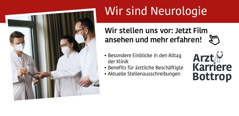 Film Klinik für Neurologie   Knappschaftskrankenhaus   Arzt Karriere Bottrop