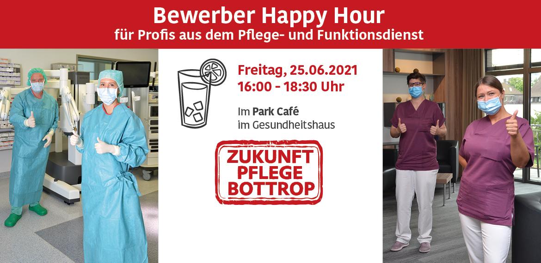 Bewerber Happy Hour für Pflegekräfte am Knappschaftskrankenhaus Bottrop