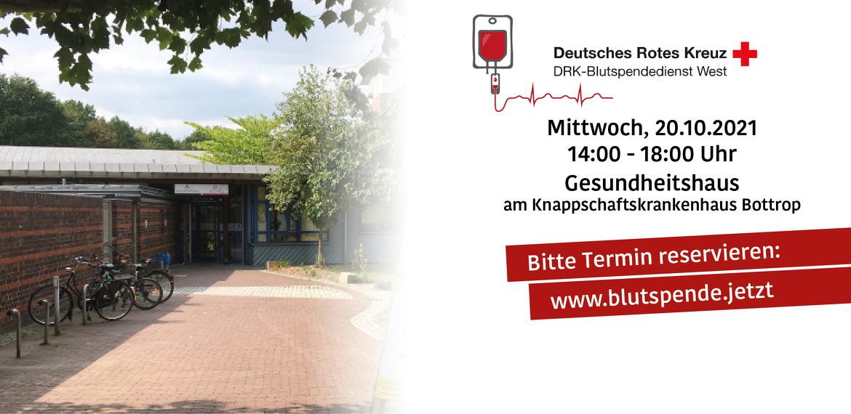 Blutspendeaktion des DRK im Gesundheitshaus am Knappschaftskrankenhaus Bottrop