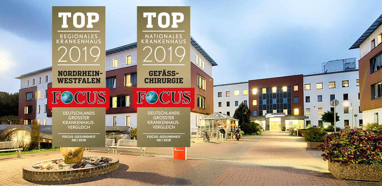 Knappschaftskrankenhaus Bottrop erneut in der Focus-Liste der Top-Kliniken in NRW