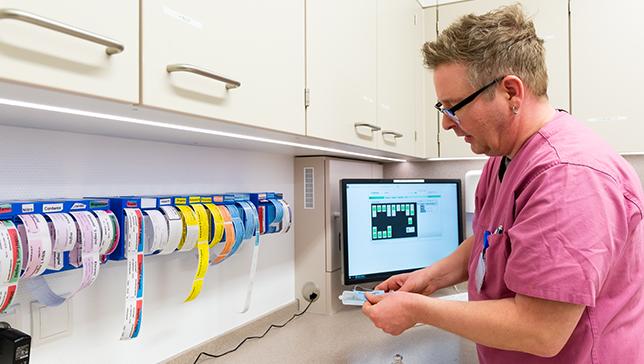 Pflegedienst - Medikamentenvorbereitung