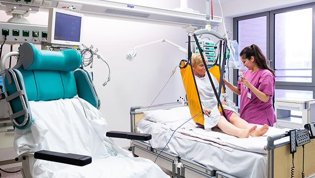 Fachpflege auf der Intensivstation