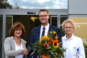 Begrüßung Geschäftsführer Dr. André Schumann