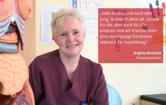 Brigitte Berchem Praxisanleiterin Knappschaftskrankenhaus Bottrop