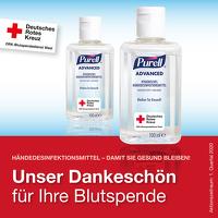 Blutspende_Haendedesinfektionsmittel fuer Blutspender