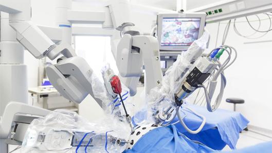 daVinci Roboter während einer OP