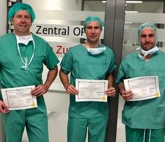 Team da Vinci Operationen Chirurgie