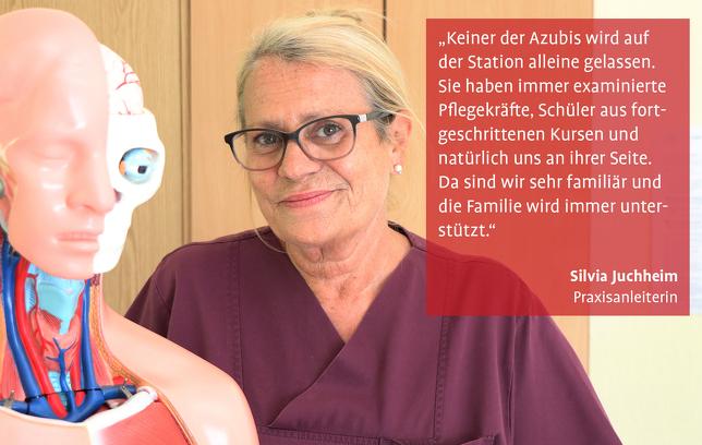 Silvia Juchheim Praxisanleiterin Knappschaftskrankenhaus Bottrop