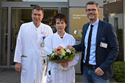 Anke Mikalo - Neue Chefaerztin Angiologie
