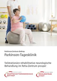 Broschüre Parkinson-Tagesklinik Bottrop